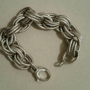 Jewelry - Bronzo Italia Silver Toned Bracelet